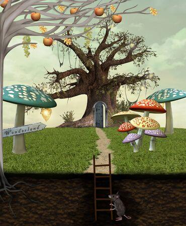 alice au pays des merveilles: Wonderland s�rie - Le long chemin de merveilles
