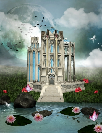 fantasy castle: Palace of dreams