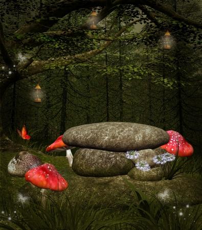 nights: Midsummer night s dream series - Fairies place