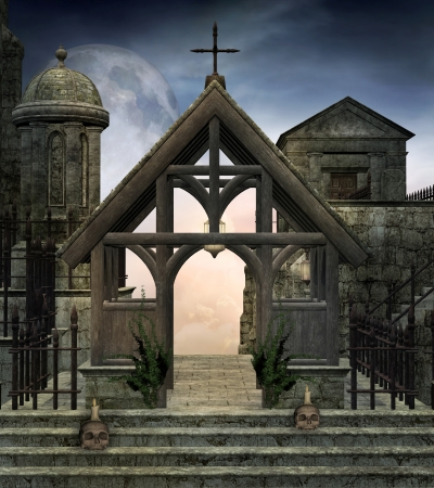 cemetery: Dark monastery