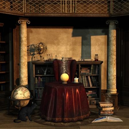 spell: Spell room