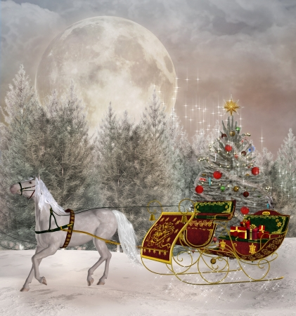 Christmas travel Stock Photo - 22342541