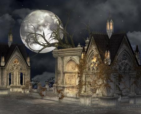 moonlit: Haunted village
