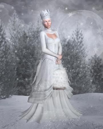 the snow queen: Snow queen