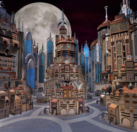 Future town photo