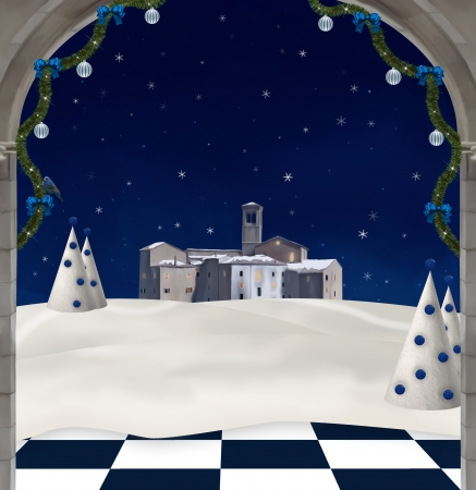 nocturne: Christmas night