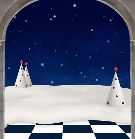 nocturne: Wonderland series - Wonderland winter