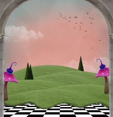 Wonderland series - Wonderland evening