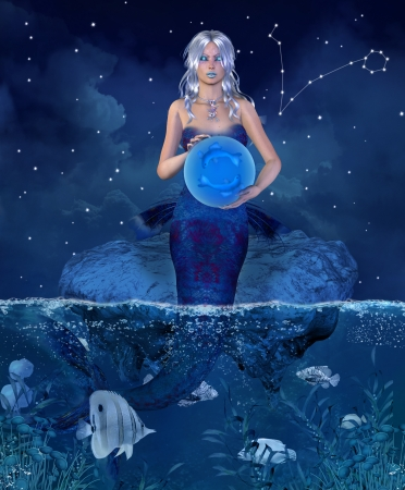 astrology signs: Zodiac series - pisces