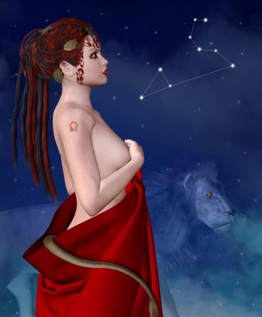 a nocturne: Zodiac series - Leo