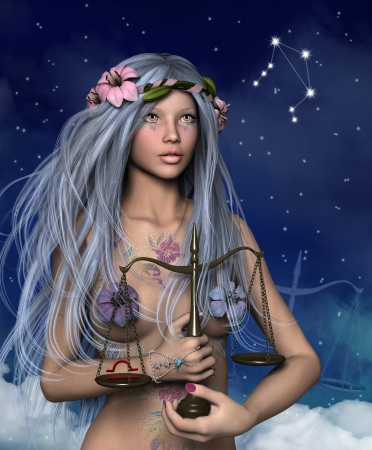 Zodiac series - Libra photo