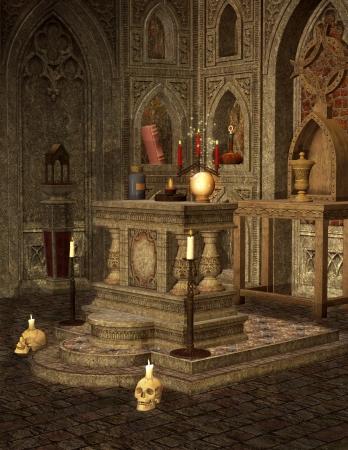 spell: Dark altar