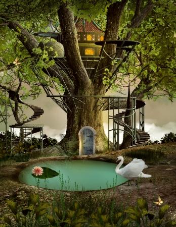 mere: Tree house
