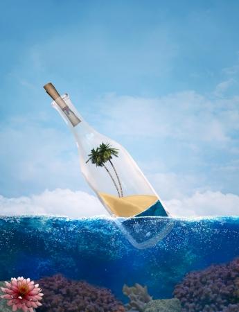 waterline: Message in a bottle