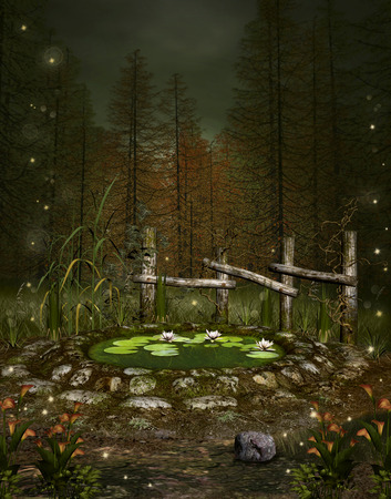 mere: Enchanted nature series - Little green pond