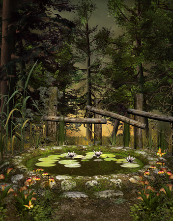 Midsummer night dream series - The green pond