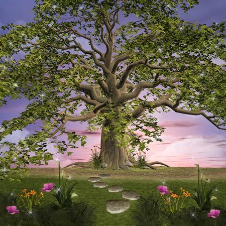 Enchanted nature series - Green garden