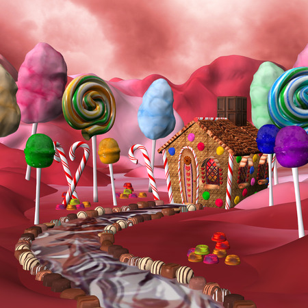 casita de dulces: Sugar land