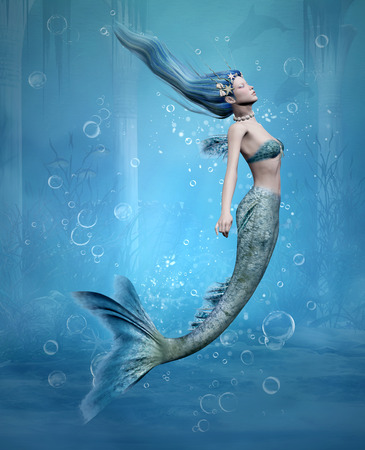 tail: Mermaid 3d