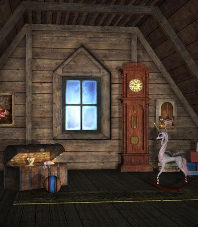 reloj de pendulo: Sala de recuerdos