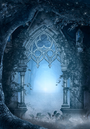 enchanted forest: Blue Passage