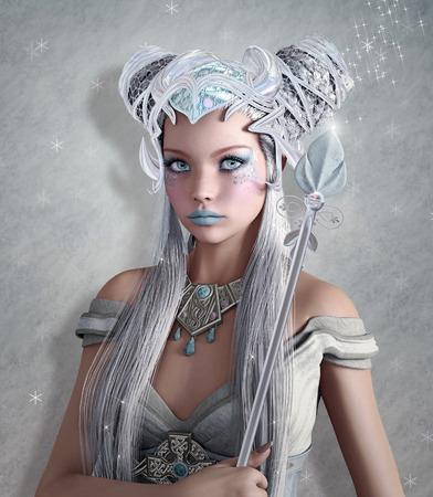 he is beautiful: Ice queen fantasy