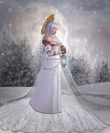 ice queen: Angel of snow