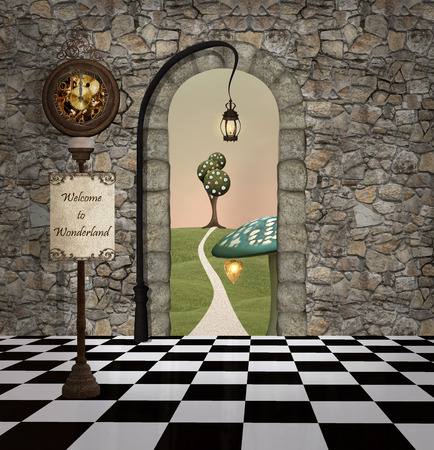 Wonderland-serie - van harte welkom in wonderland
