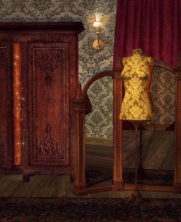 19th: Vintage boudoir