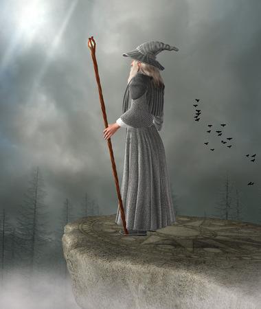 Oude tovenaar