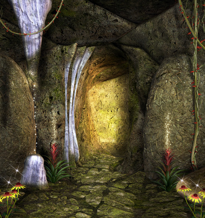 passage: Enchanted cave