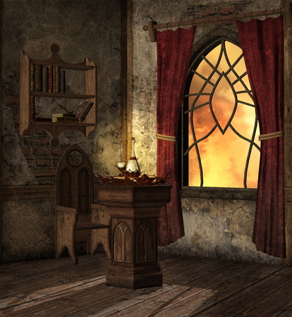 mysterious: Mysterious room of secret potion