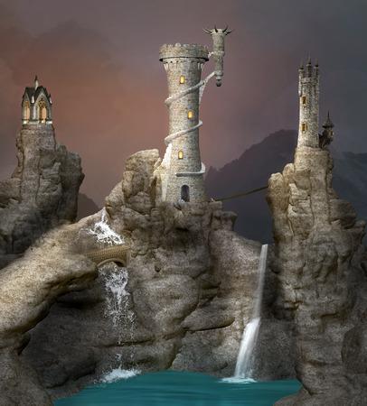 blockhouse: Fantasy landscape