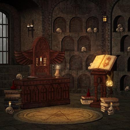 Chamber of secret rite