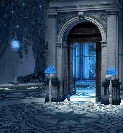 portone: Porta al palazzo elfo