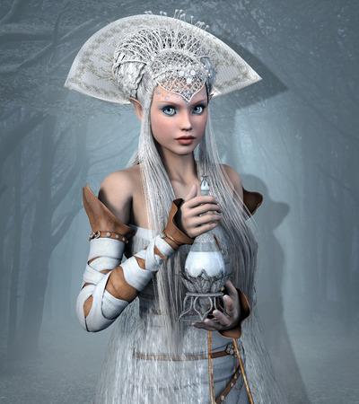 pocion: Reina del duende con la poci�n