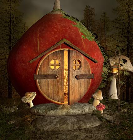 nocturne: Elf fantasy house
