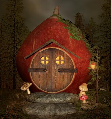 dark elf: Curious elf house