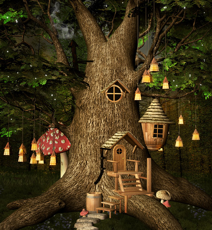 enchanted: Tree house