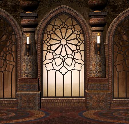 portones: Puerta misteriosa