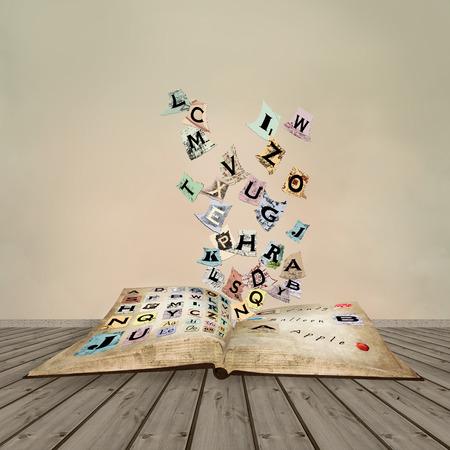 Vintage abc book