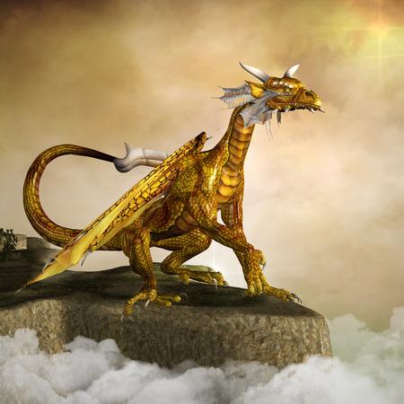 dragones: Dragón del oro