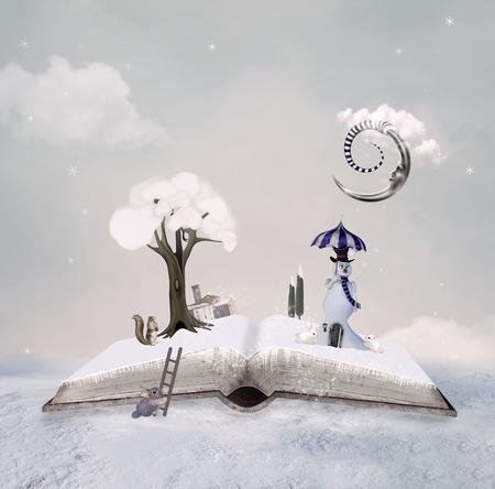 Winter tale book