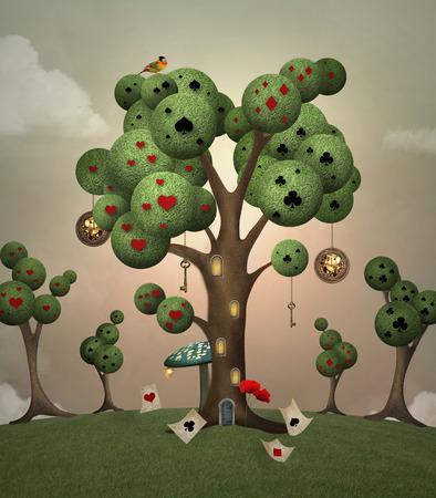 Wonderland series - Wonderland hill
