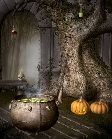 spul: Halloween witch stuff
