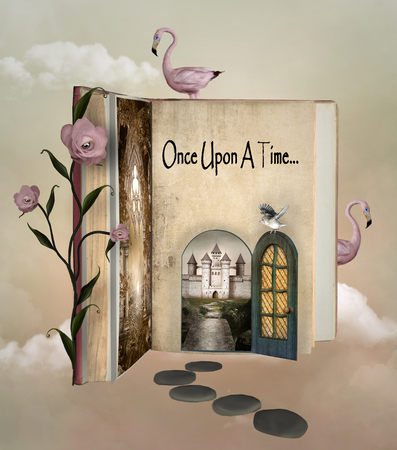 alice: Fairy tale book Stock Photo