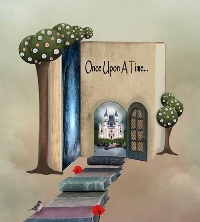 土地の本への道