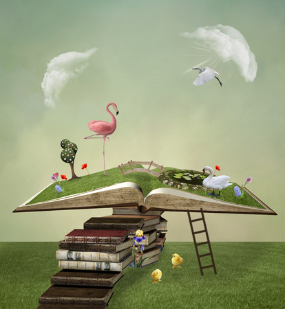 surreal: Pathway to the open book
