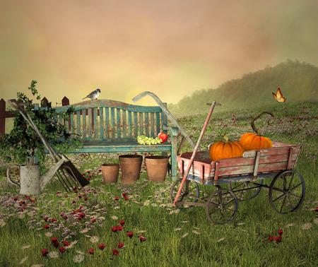 fantasia: Ferramentas de jardinagem