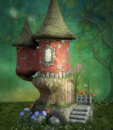 Petit château de conte de fées
